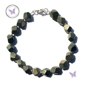 Pyrite Nugget Bracelet